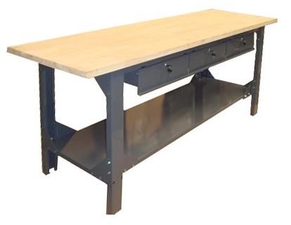 etabli 2000 bois quip avec outillage postes de travail l 39 atelier modulaire des professionnels. Black Bedroom Furniture Sets. Home Design Ideas