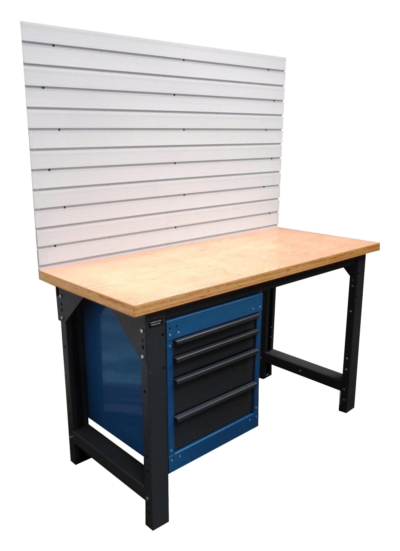 etabli 1500 quip avec pvc postes de travail l 39 atelier modulaire des professionnels. Black Bedroom Furniture Sets. Home Design Ideas